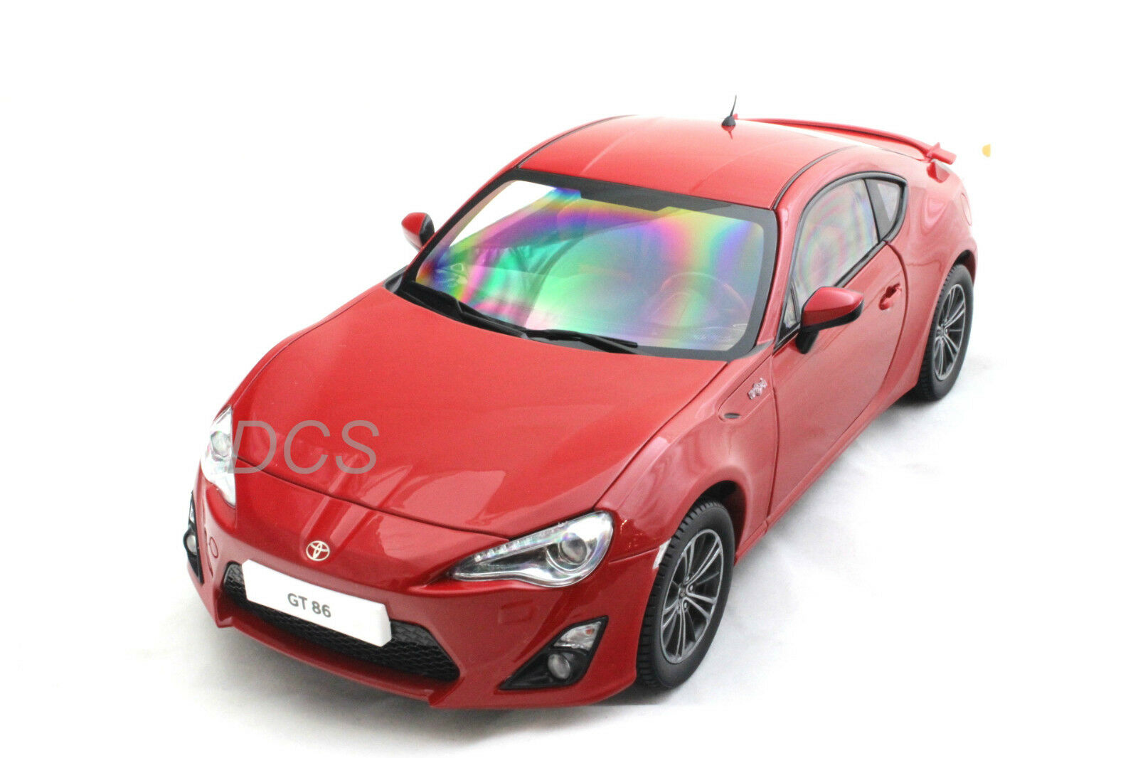2013 TOYOTA GT 86 LEFT HAND DRIVE LIGHTNING RED 1 18 CENTURY DRAGON 1002A