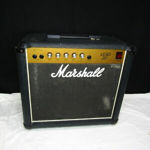 Vtg Marshall Lead 20 Solid State Amplifier Model 5002 Electric Guitar MP253