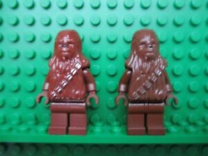 MINIFIGS LEGO STAR WARS  FIGURINES AU CHOIX CHEWBACCA   ETC...