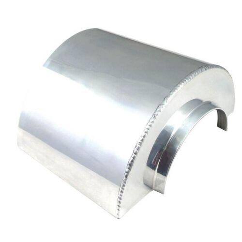 "Spectre Performance 8130 Heat Shield Short for 3/"" Filter Polished Aluminum"