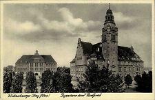 Wittenberge Brandenburg ~1920/30 Rathaus Turm Uhr Gebäude Postkarte ungelaufen