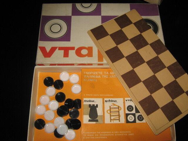 UNIQUE GREEK ADVERTISING LITHO LOT BOARD PENNY GAMES BY - - - XLORINI KLINEX - 60s 253869