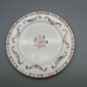 Minton-Bone-China-Minton-Rose-Luncheon-Plates-Set-of-Six