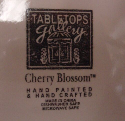 Tabletops Unlimited CHERRY BLOSSOM Dinner Plate CHERRIES More Items Available