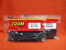 "ZOOM 6.5"" Trick Worm (20cnt) #006-229 Blackberry (2 PCKS)"