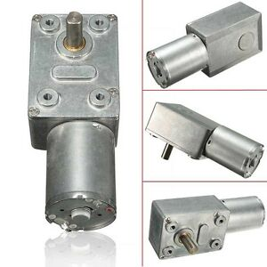 0-6RPM-Reversible-Motor-High-Torque-Turbo-Worm-Geared-Motor-DC-12V-Reduction
