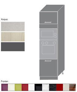 hochschrank 60cm k chenschrank f r backofen und mikrowelle neu pn d14 ru ebay. Black Bedroom Furniture Sets. Home Design Ideas