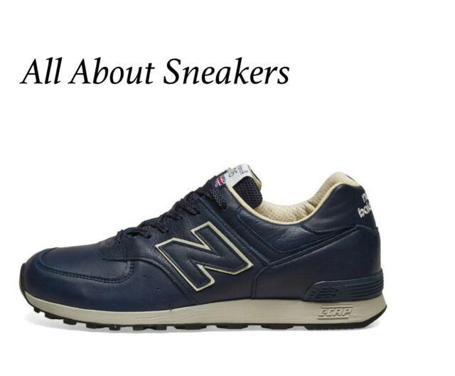 NEW BALANCE 576 - MADE IN ENGLAND Blue Men's Trainers All Sizes Limited Stock