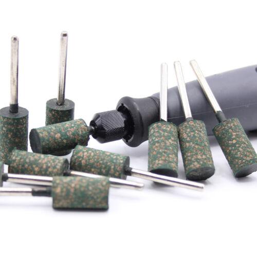 Multischleifer D47 6x Polierstifte 20 x 10mm Gummi passen für Dremel Proxxon