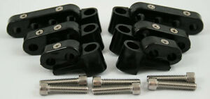 New-Black-Ignition-Lead-Wire-Separators-with-Horizontal-Mounts-Suit-7-9mm-28-204