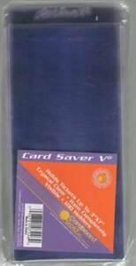 100ct-CARD-SAVER-5-V-SEMI-RIGID-TICKET-CURRENCY-HOLDERS-CS5