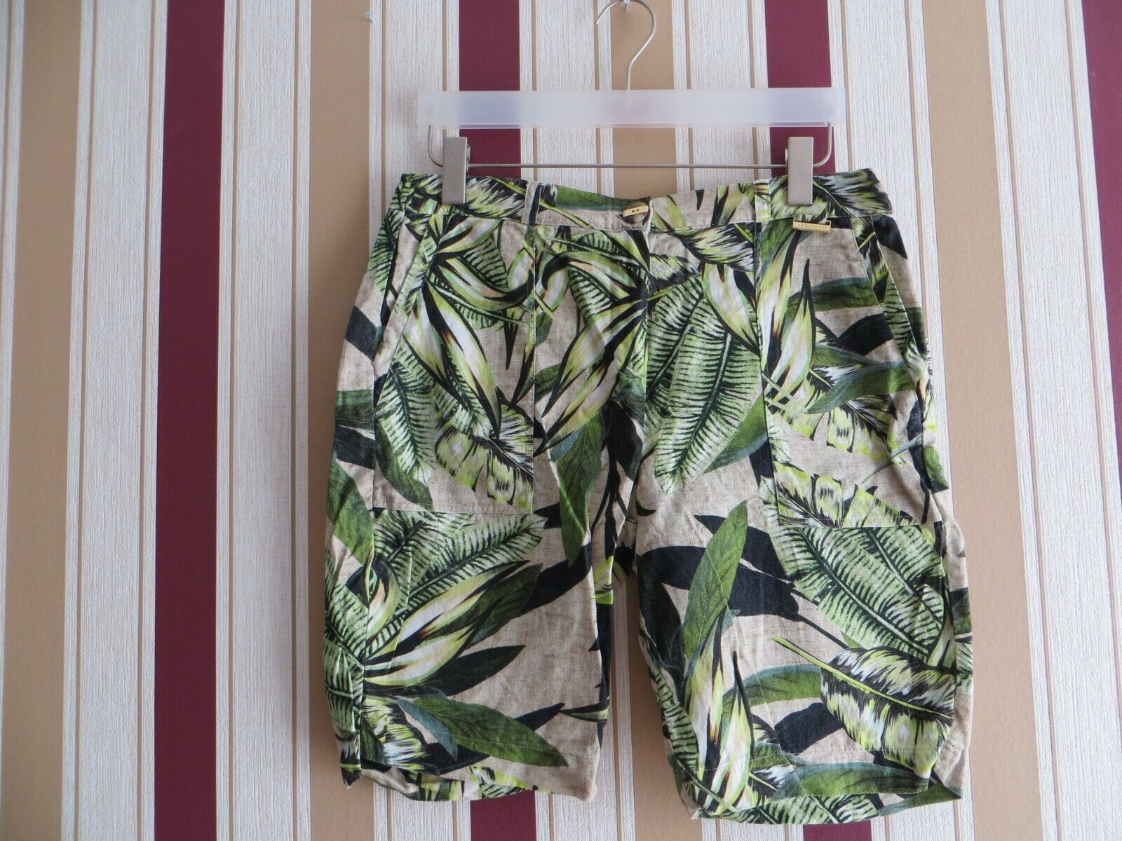Absolutti - Bermuda - Damen - Größe 40 - Mehrfarbig