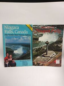 2-Vintage-Niagara-Falls-Visitor-Guide-Travel-BOOKLETS-Brochures