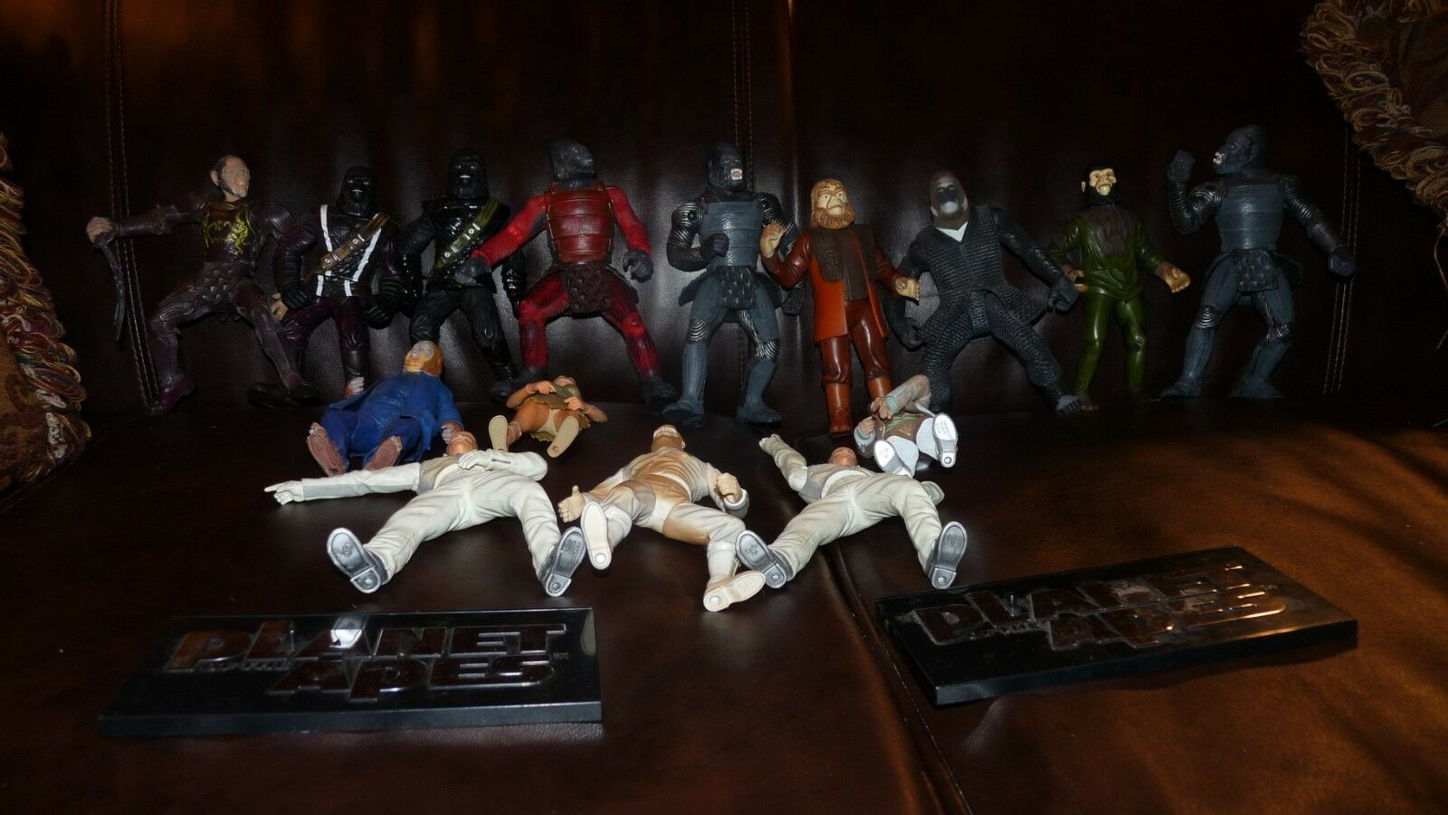 Lot of Vintage Planet of the Apes Action Action Action Figures  6'-7'' includes Thade No Horse f488a8