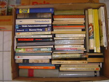 Große Kiste Bücher, Bananenkiste, für Leseratten ca. 50 Stück, 23