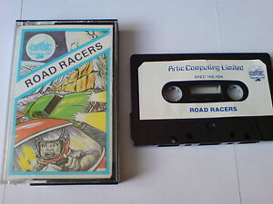 MéThodique Road Racers-artic Computing Limited-zx Spectrum 16k/48k-afficher Le Titre D'origine Sans Retour