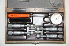 Swiss 00813409 Tesa Imicro Three Point Internal Micrometer Set 35 65 Mm