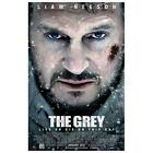 The Grey Poster Movie 11 x 17 Inches - 28cm 44cm Liam Neeson Dallas Roberts Frank Grillo Dermot Mulroney Nonso Anozie Joe Anderson Ben Bray