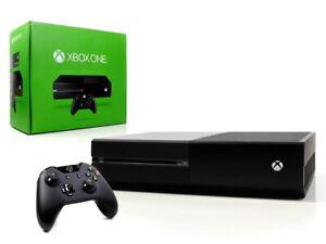 Microsoft-XBOX-ONE-Konsole-500GB-Schwarz-Controller-Spielkonsole
