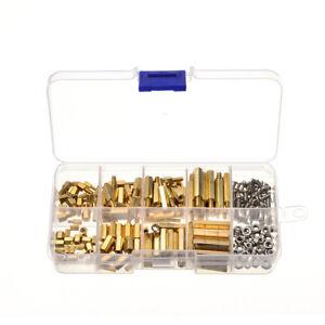 LC-240X-M2-M3-double-screw-BOULON-en-acier-inoxydable-fil-Impasse-ecrou-SET