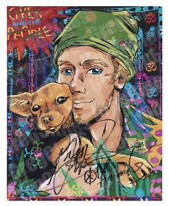 SIGNED-Greg-Cipes-8x10-glossy-photo-Autograph-Beast-Boy-Teen-Titans-TMNT