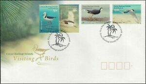 2008-COCOS-KEELING-ISLANDS-Visiting-Birds-4-FDC
