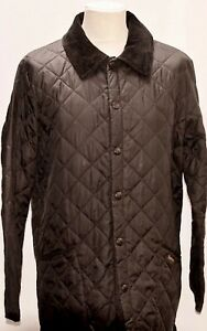 GREAT-UOMO-BARBOUR-D364-LIDDESDALE-Giacca-piumino-M-NERO