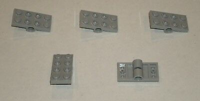 4211444 Brick 3709 10x LEGO NEW 2x4 Light Bluish Grey Technic Plate with Holes