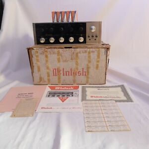 McIntosh-C20-Tube-PreAmplifier-all-ORIGINAL-BOX-receipt-C11-amp-C22-era