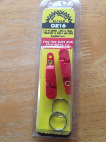 OFF SHORE TACKLE OR16 Pro Snap Weight Clip 2 PACK