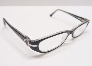 Vogue Eyeglasses Frames Black Rhinestone Heart Vo 2727 B 1688 53 16