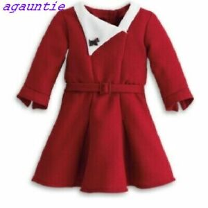 American Girl Kit's Christmas Holiday DRESS Outfit Emily Rebecca Ruthie Samantha