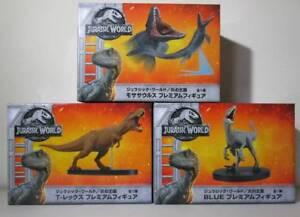 SEGA-Premium-Figure-Jurassic-World-Kingdom-of-Flames-Mosasaurus-T-Rex-Blue-set