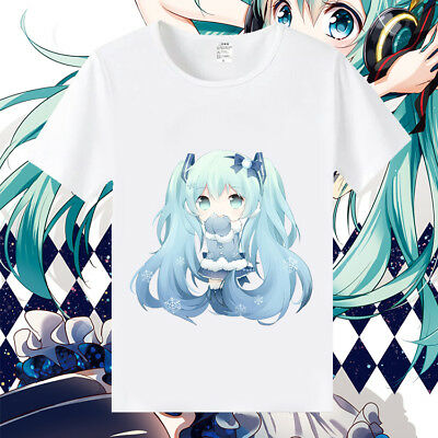 Vocaloid Anime Manga T-Shirt Kostüme Neu Miku Hatsune