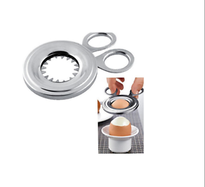 COUPE OEUF A LA COQUE INOX STAINLESS USTENSILE CUISINE