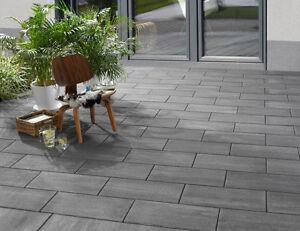 Kann Terrassenplatten Stratos Platten Betonglatt In 3 Farben Ebay