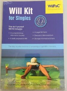 Single Will Kit-Free Postage-Full Instructions Provided Too-Lawyer Approved Too