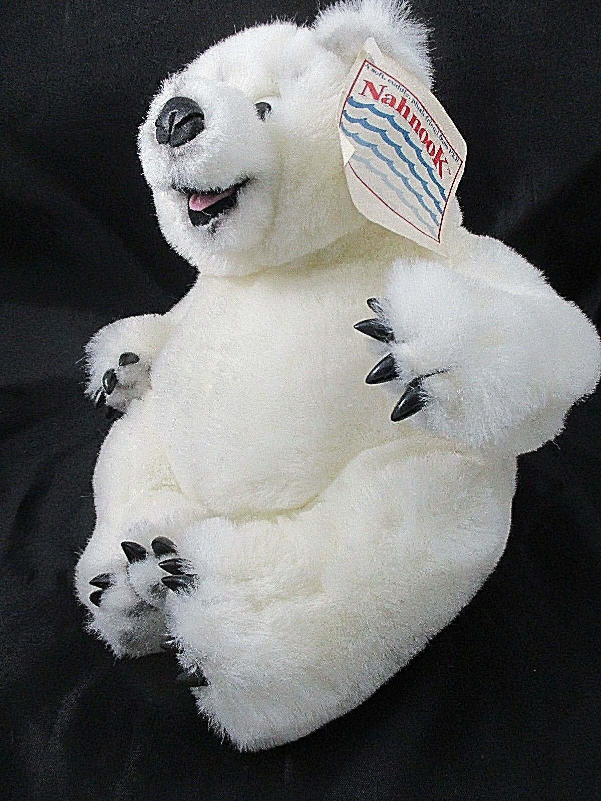 Nahnook Plush Polar Abominable Bear Nanook Abominable Polar Snowman
