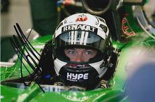 ANDRE LOTTERER CATERHAM F1 HAND SIGNED 6X4 PHOTO 20.