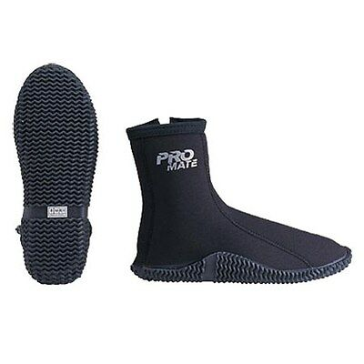 3mm Neoprene Zipper Scuba Dive Booties Snorkeling Fishing Water Sport Boots Shoe