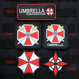 resident evil umbrella corporation u.s.s ubcs chest tape