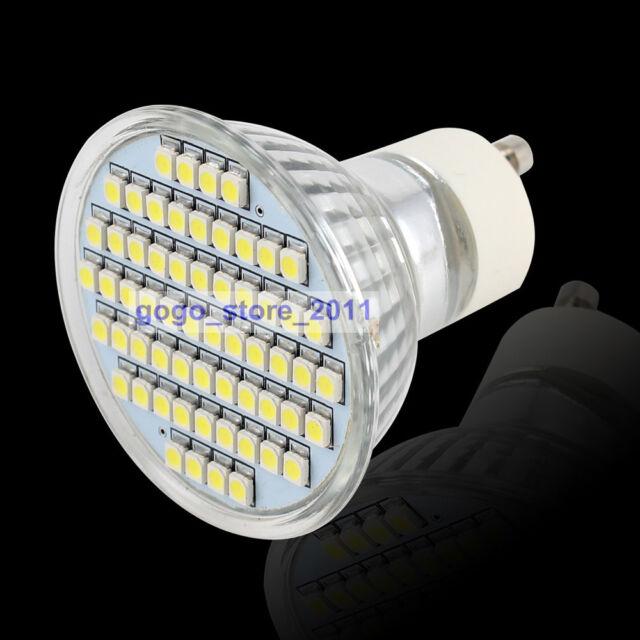 GU10 60 SMD LED High Power White Bulb Lamp 230V
