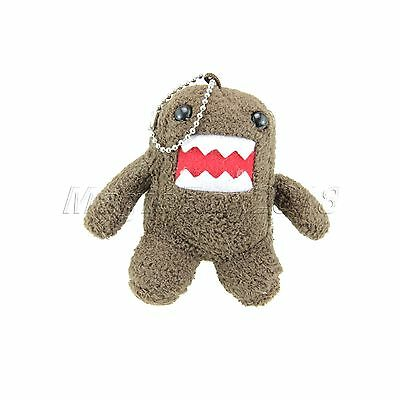 8.5cm Plush Domo Kun Doll Toy Keychain Baby Kids Cell Phone Strap Cosplay Gift