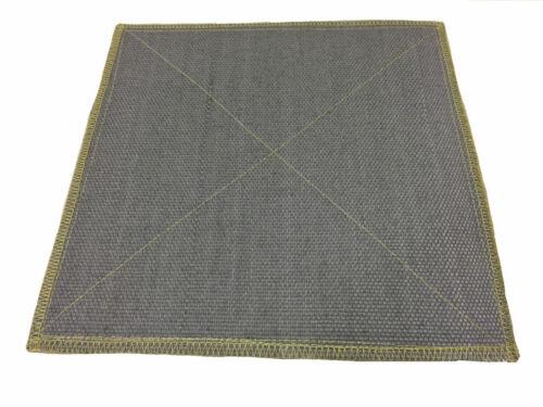 Flammschutzmatte Schweißermatte Spritzerschutzmatte 500 x 500 mm 600°C Alufix