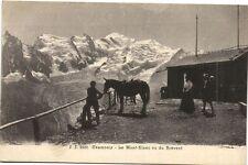 CPA  Charmonix  - Le Mont-Blanc vu du Brévent   (173259)