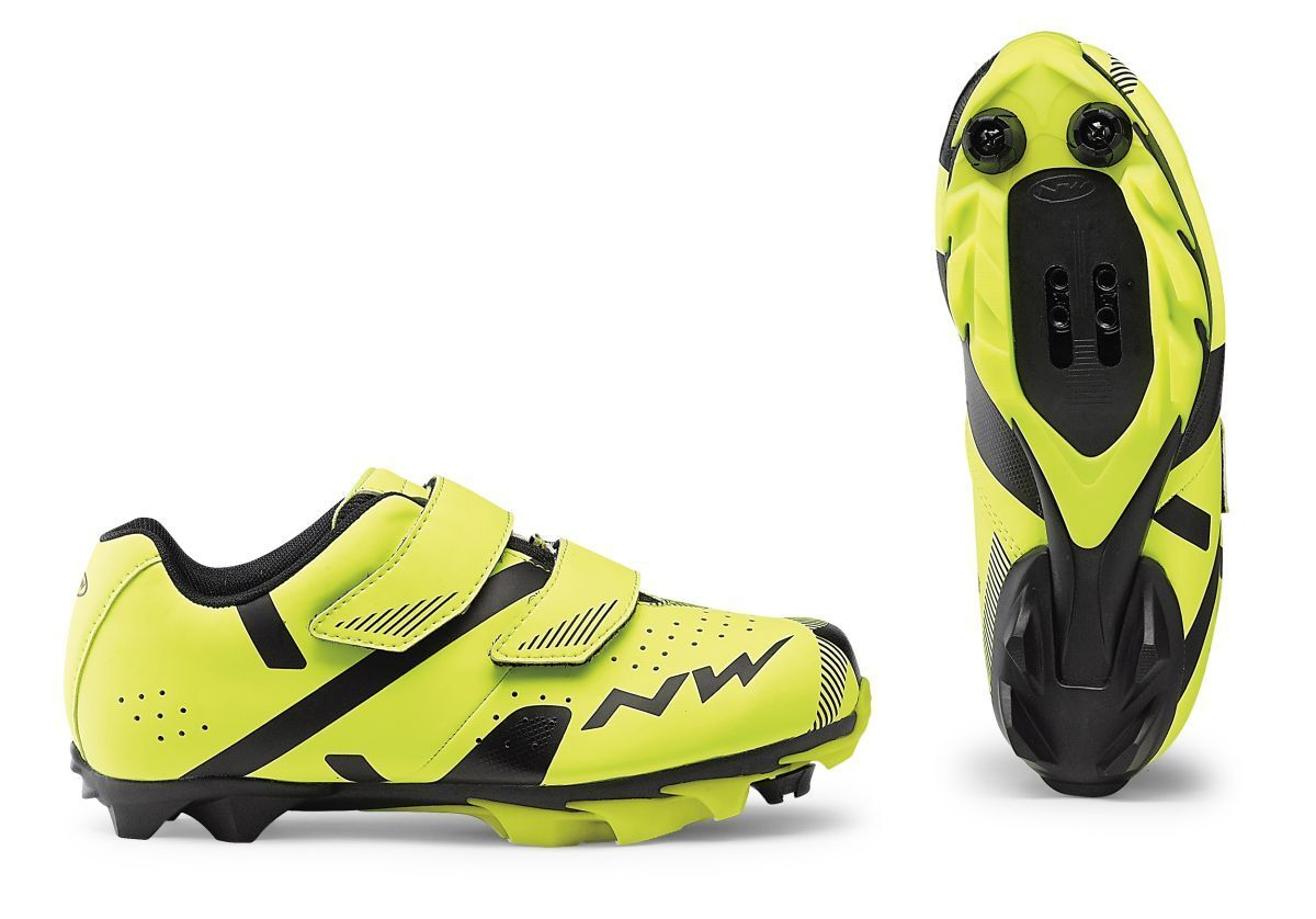 Northwave Hammer 2 Junior Kinder Kinder Kinder MTB Fahrrad Schuhe gelb schwarz 2019 8e6432