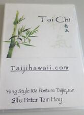 Tai Chi Yang Style 108 Sifu Peter Tam Hoy NP $65