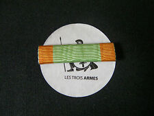 A0042 - Barrette rappel Médaille Engagés Volontaires  - French Military ribbon
