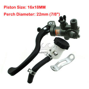 Clutch Lever 7//8 Motorcycle Front Adelin Adjustable Clamp Clutch Master Lever