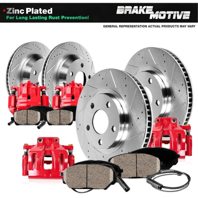 Front And Rear Brake Rotors Metallic Pads For 325i 318i 318is 328i